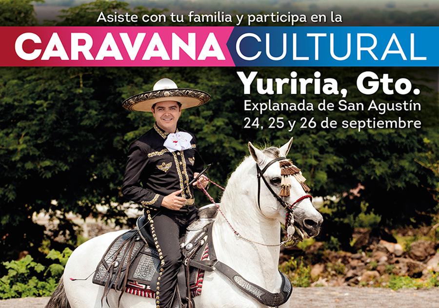 Cartel CAravana Yuriria